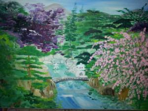 La Rivière près du Cerisier dans Paysages Rivière-300x225