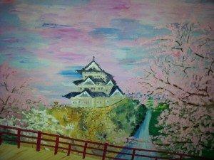 Le Temple dans Paysages temple-et-cerisier-300x225